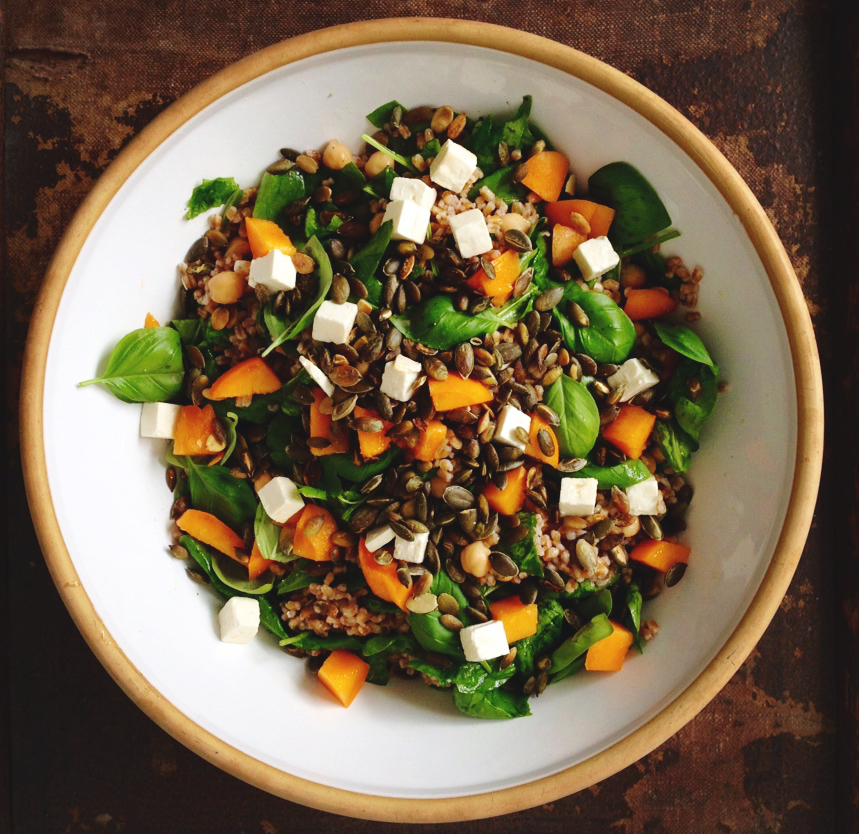 salat til brunch